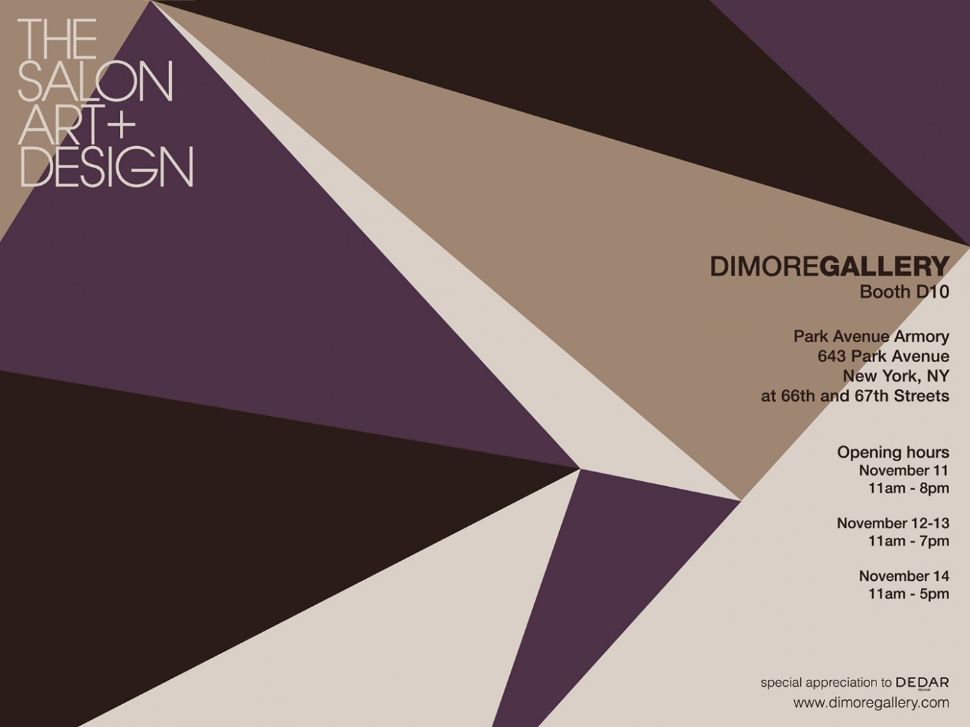 The salon ny october 2016 dimoregallery together with works that represent symbols of excellence of italian design in order to create a perfect dialogue between past and present buycottarizona
